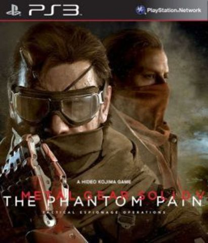 PS3 Metal Gear Solid V: The Phantom Pain - Day One Edition (русские субтитры)