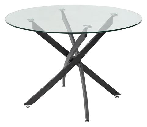 Стол стеклянный круглый PETAL D110 см.