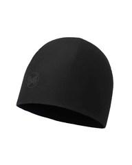 Тонкая шапка с флисовой подкладкой Buff Hat Polar Microfiber Solid Black