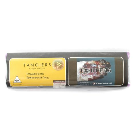 Табак для кальяна Tangiers Noir (желтый) 48 Tropical Punch 250 гр