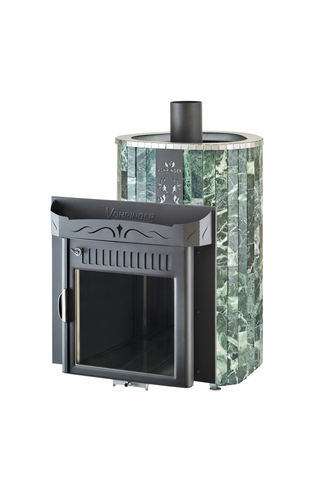 Печь Оптима (Жадеит наборный) от/каменка об/металл