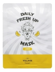 Тканевая маска для лица с экстрактом лимона Daily Fresh Up Mask Lemon 20г
