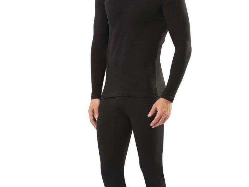 Мужская термофутболка черная с длинным рукавом Doreanse 2965