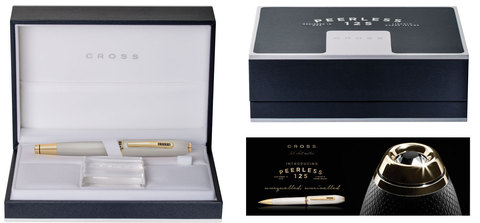 Cross Peerless 125 - Platinum GT, шариковая ручка, M, BL123