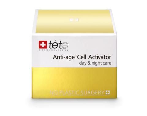 Омолаживающий крем для лица Anti-age Cell Activator (day and night)