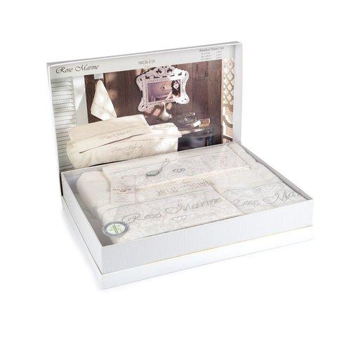 Набор полотенец  ROSEMARINE - РОЗ МАРИН 3пр 30х50 50х100 и 70х140 Maison Dor (Турция)