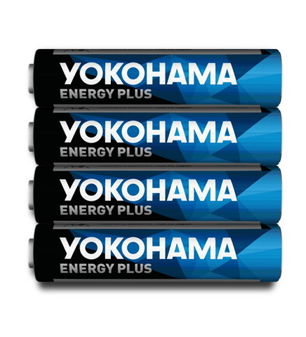 Батарейки Yokohama Energy Plus LR03, AAA (4/40/200)