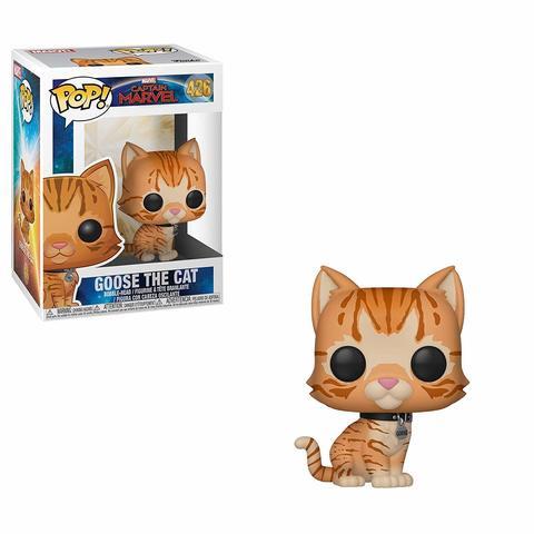 Фигурка Funko POP! Bobble: Marvel: Captain Marvel: Goose the Cat 36379