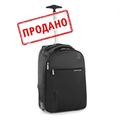 Рюкзак/чемодан Roncato Speed SMALL CABIN BACKPACK Black