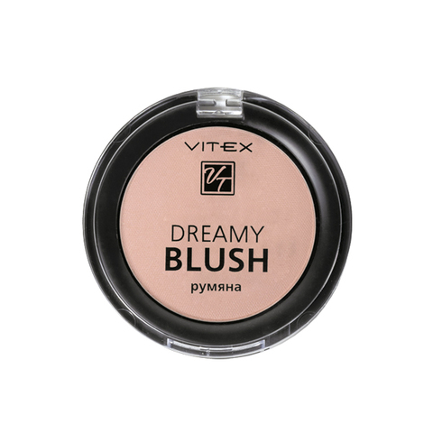 Витэкс Dreamy Blush Компактные румяна тон 102 Golden peach