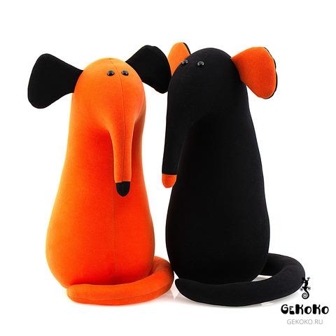 Подушка-игрушка антистресс «Крыс повелитель Кис», рыжий 4
