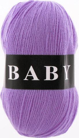 Пряжа Baby (Vita) 2877 Сиреневый фото