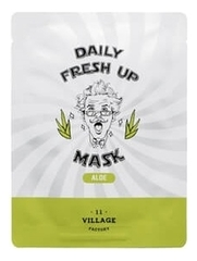Тканевая маска с экстрактом алоэ вера Daily Fresh Up Mask Aloe 20г