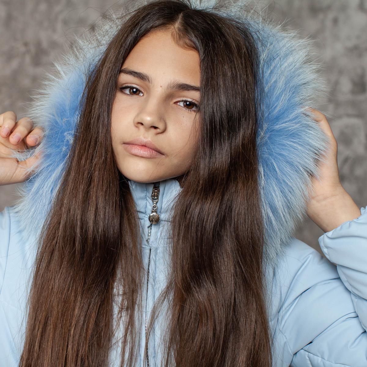Пальто зимнее подростковое для девочек