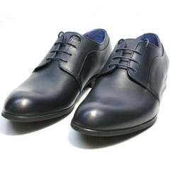 Мужские туфли дерби Ikos 060-4 ClassicBlue