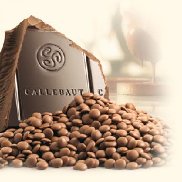 Шоколад молочный Callebaut