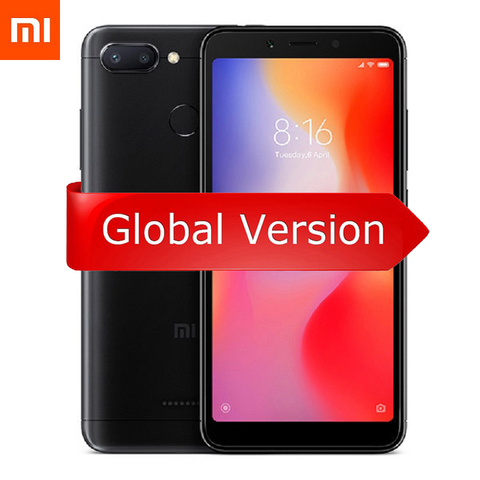 Смартфон Xiaomi Redmi 6 3GB + 32GB (черный)