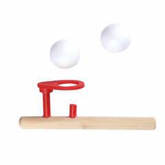 Игра для развития речевого дыхания, аэробол деревянный