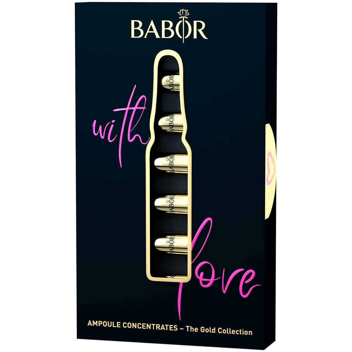Ампулы Babor With Love Gold Edition 14мл