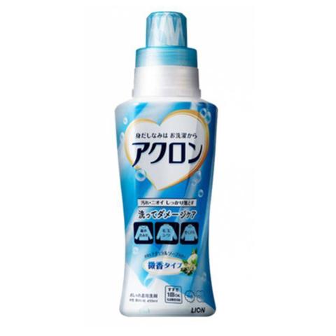 Средство для стирки деликатных тканей с ароматом мыла Lion Acron 450 мл