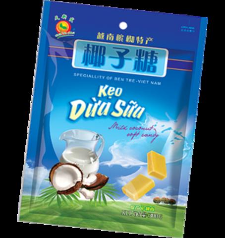 Кокосовые ириски, Keo Dua Sua - 300 гр.