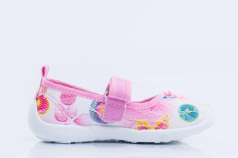 Туфли текстильные розовые, Котофей (ТРК ГагаринПарк)