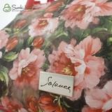 Сумка Саломея 278 коралловые цветы