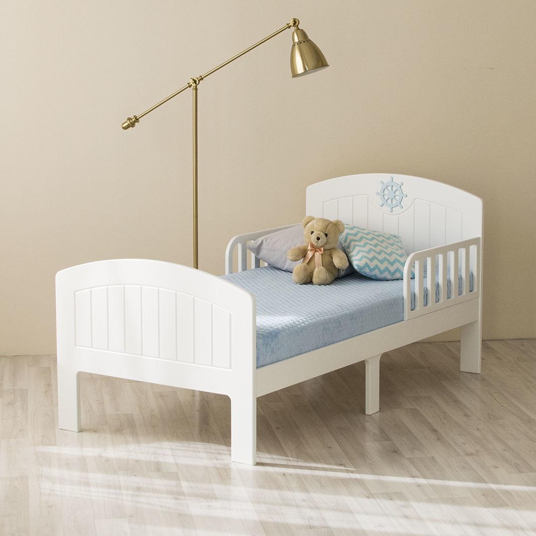 Кровать подростковая Юнга Белая