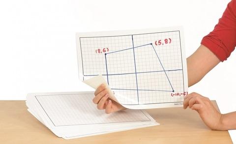 Доска маркерная клетка А4, Edx education, арт. 90630
