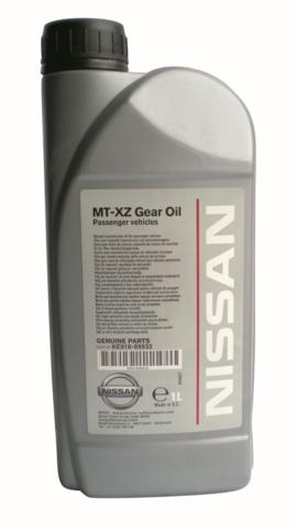 NISSAN MT XZ Gear Oil 75W80 GL4+ Жидкость трансмиссионная для МКПП  (пластик/ЕС)
