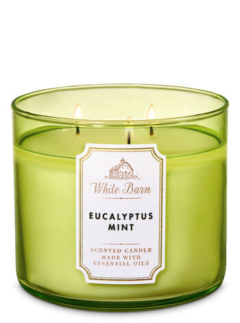 Свеча Bath&BodyWorks Eucalipt Mint