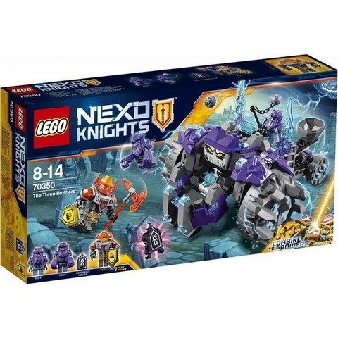 LEGO Nexo Knights: Три брата 70350 — The Three Brothers — Лего Нексо Рыцари