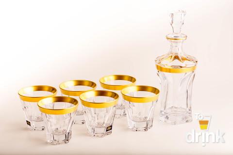 Набор для виски 7 предметов Apollo