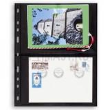Лист для банкнот OPTIMA, 2 ячейки, двусторонний, с черной основой
