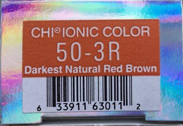 Крем-краска CHI Ионик 50-3 R 85 гр