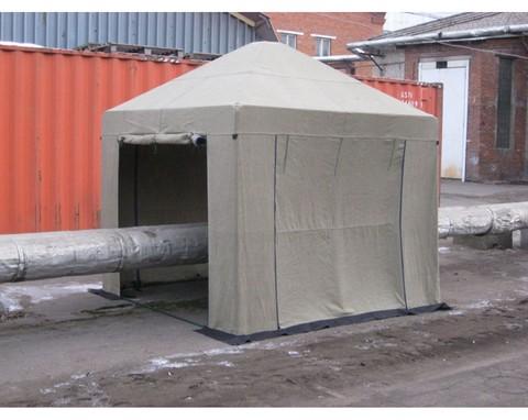 Палатка сварщика 3.0х3.0 (брезент)