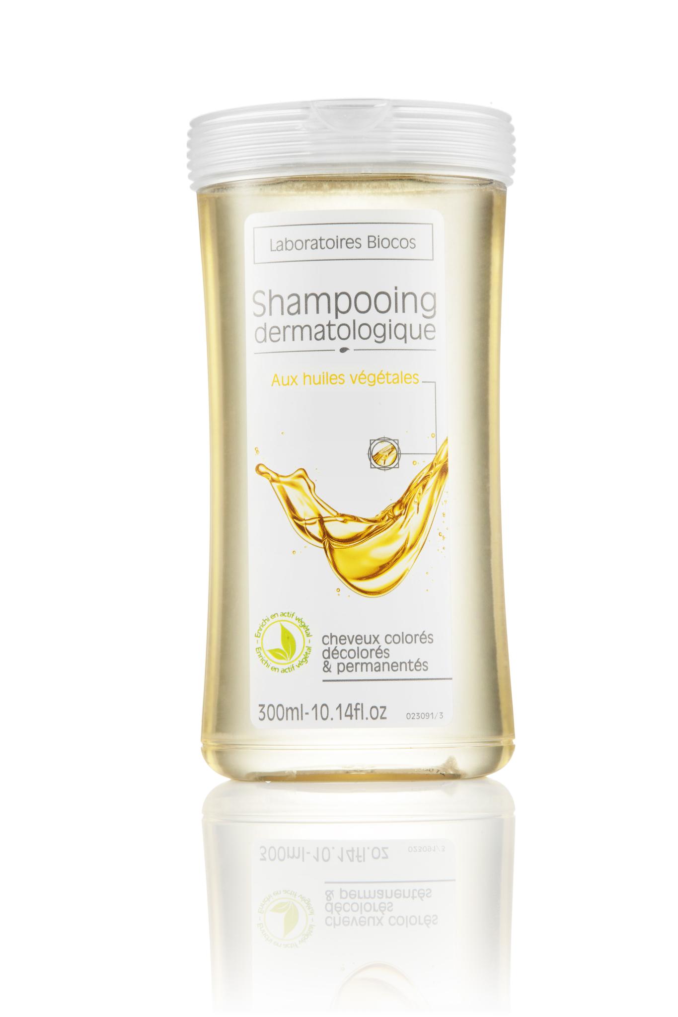 Дерматология шампунь с растительными маслами 300 мл.