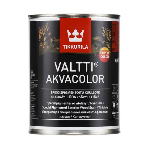Tikkurila Valtti Akvacolor/Тиккурила Валтти Акваколор фасадная лазурь на основе натурального масла