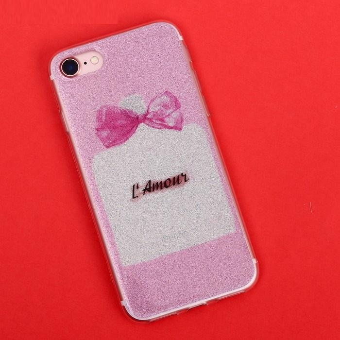 Силиконовый Чехол-накладка для телефона iPhone 7 L`Amour фото