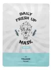 Успокаивающая тканевая маска с экстрактом чайного дерева Daily Fresh Up Mask Tea Tree 20г