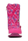 Зимние сапоги Хелло Китти (Hello Kitty) на молнии с мембраной для девочек, цвет розовый. Изображение 4 из 8.