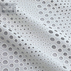 Белое хлопковое шитье