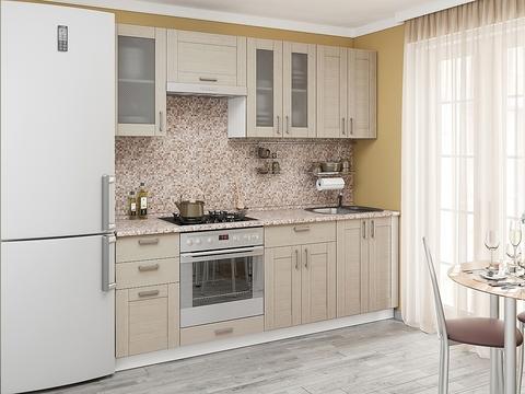 Кухня Лофт-3 белый, cappuccino veralinga