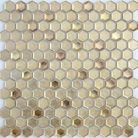 Мозаика Aureo grani hexagon 13x23x6 300x300