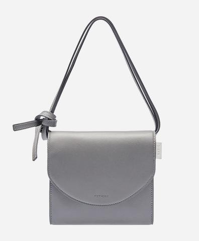 Luna Bag серого цвета