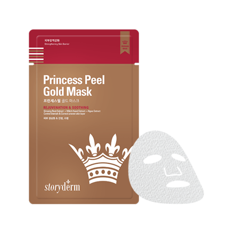 Антивозрастная маска на тканевой основе Premium Princess Peеl Gold Mask, 25 мл