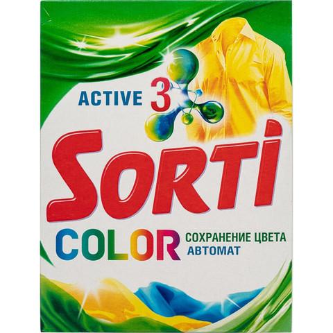 Порошок стиральный автомат Sorti Color 350 г