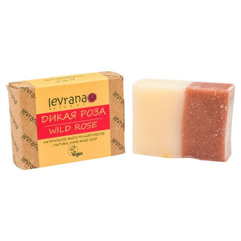 Levrana, Роза, натуральное мыло, 100гр