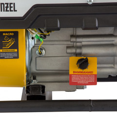 Генератор бензиновый PS 28, 2.8 кВт, 230 В, 15 л, ручной стартер Denzel