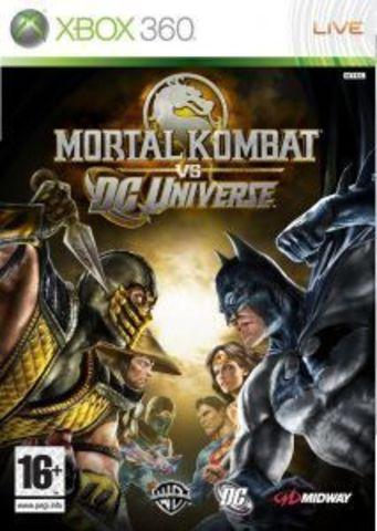 Xbox 360 Mortal Kombat Vs. DC Universe (Classics) (русская документация)
